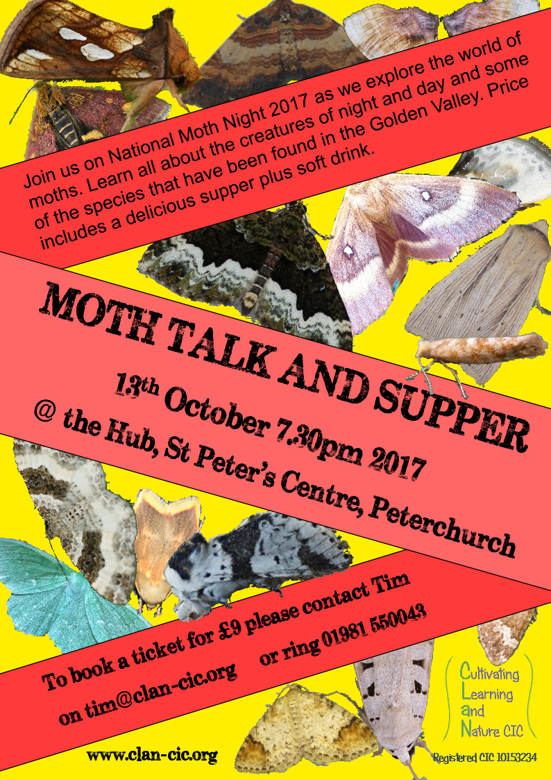 Moth Talk & Supper