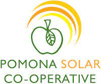 Pomona solar co-operative logo