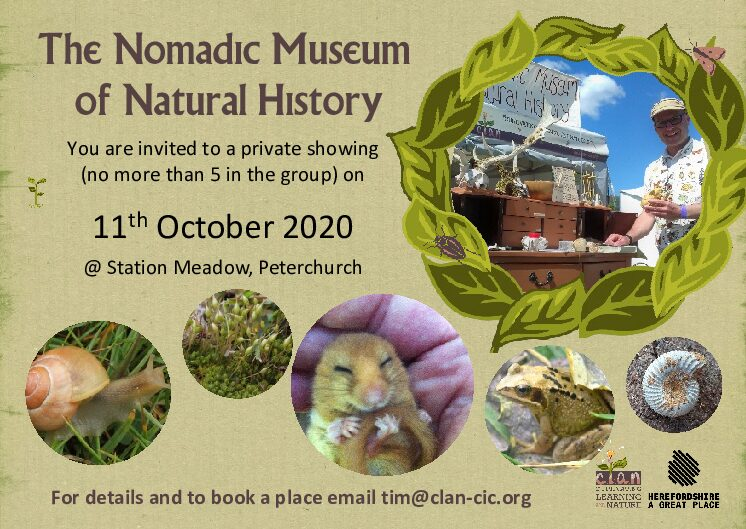 The Nomadic Museum of Natural History – invitation to private showing